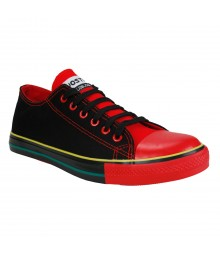 Vostro CPLUS01 Black Red Men Casual Shoes - VCS1091-40